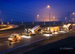 Ballast-Nedam Infra lok A12 thv Zevenhuizen 091031