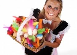 Model Tanja Mand + Eieren