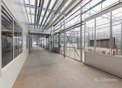 Interieur Kweekkas met klimaatregeling en Assimilatiebelichting Fotografie Joop Gijsbers
